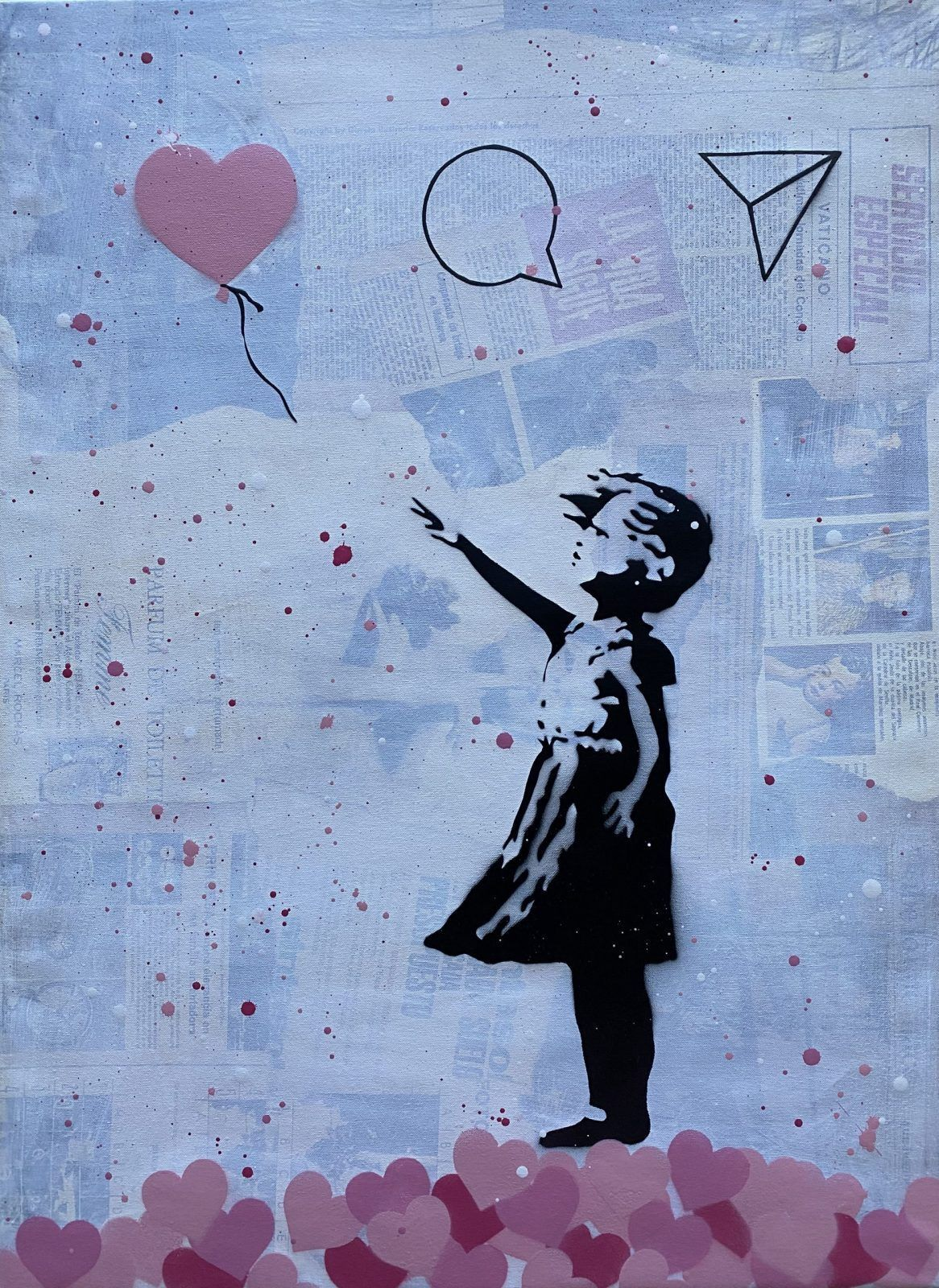 Banksy update available (Pink)